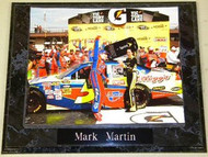 Mark Martin NASCAR 10.5x13 Plaque