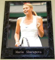 Maria Sharapova Tennis Champion 10.5x13 Plaque