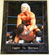 Dolph Ziggler Vs. John Morrison WWE Wrestling 10.5x13 Plaque