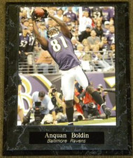 Anquan Boldin Baltimore Ravens NFL Football 10.5x13 Plaque