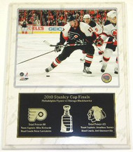 Jeff Carter Philadelphia Flyers NHL Stanley Cup Finals 12 x 15 Plaque
