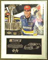 David Reutimann Coca Cola 600 Champion 12x15 Custom NASCAR Racing Plaque