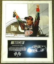 Jeff Gordon 12x15 NASCAR Victory Lane Plaque