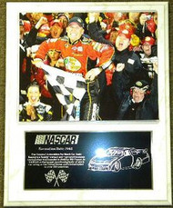Jamie McMurray Daytona 500 Champion 12x15 NASCAR Plaque
