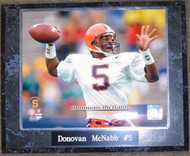 Donovan McNabb Syracuse Orange NCAA 10.5x13 Plaque