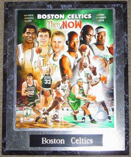 Boston Celtics Robert Parrish, Kevin McHale, Larry Bird, Ray Allen, Kevin Garnett & Paul Pierce NBA 10.5x13 Plaque