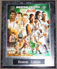 Boston Celtics Robert Parrish, Kevin McHale, Larry Bird, Ray Allen, Kevin Garnett & Paul Pierce NBA 10.5x13 Plaque