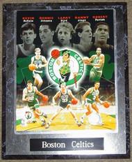 Boston Celtics Robert Parrish, Kevin McHale, Larry Bird, Dennis Johnson & Danny Ainge NBA 10.5x13 Plaque