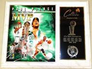 Paul Pierce Boston Celtics NBA Champions 15x12 Plaque