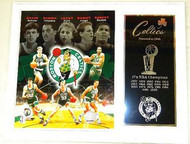 Boston Celtics NBA Champions 15x12 Plaque Kevin McHale, Dennis Johnson, Larry Bird, Danny Ainge & Robert Parish
