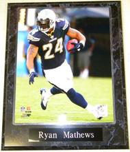 Ryan Mathews San Diego Chargers 10.5 x 13 NFL Plaque
