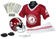 Alabama Crimson Tide #12 Franklin Deluxe Youth / Kids Football Uniform Set - Size Medium