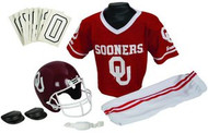 Oklahoma Sooners Franklin Deluxe Youth / Kids Football Uniform Set - Size Medium