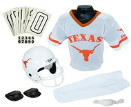 Texas Longhorns Franklin Deluxe Youth / Kids Football Uniform Set - Size Medium