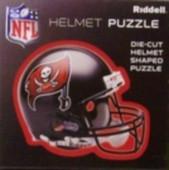 """Tampa Bay Buccaneers Riddell NFL 16""""x16"""" Helmet Puzzle 100 Pieces"""