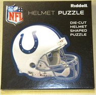 "Indianapolis Colts Riddell NFL 16""x16"" Helmet Puzzle 100 Pieces"