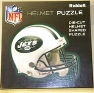 "New York Jets Riddell NFL 16""x16"" Helmet Puzzle 100 Pieces"