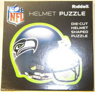 "Seattle Seahawks Riddell NFL 16""x16"" Helmet Puzzle 100 Pieces"