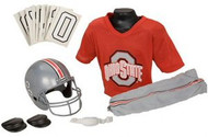 Ohio State Buckeyes Franklin Deluxe Youth / Kids Football Uniform Set - Size Small