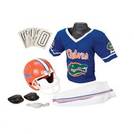 Florida Gators Franklin Deluxe Youth / Kids Football Uniform Set - Size Small