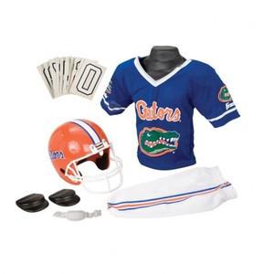 the latest 8542b 0dc06 Florida Gators Franklin Deluxe Youth / Kids Football Uniform ...