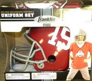 Alabama Crimson Tide #15 Franklin Deluxe Youth / Kids Football Uniform Set - Size Medium