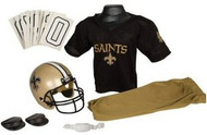 New Orleans Saints Franklin Deluxe Youth / Kids Football Uniform Set - Size Small