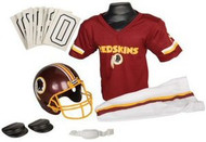 Washington Redskins Franklin Deluxe Youth / Kids Football Uniform Set - Size Small