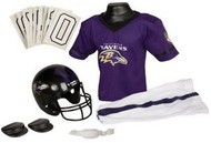 Baltimore Ravens Franklin Deluxe Youth / Kids Football Uniform Set - Size Small