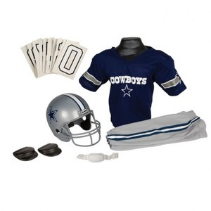 0a8cb8aa Dallas Cowboys Franklin Deluxe Youth / Kids Football Uniform Set ...