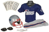 New England Patriots Franklin Deluxe Youth / Kids Football Uniform Set - Size Small