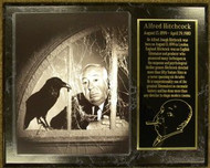 Alfred Hitchcock The Birds 15 x 12 Custom Movie Plaque