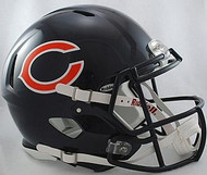 Chicago Bears Riddell NFL Authentic Revolution SPEED Pro Line Full Size Helmet