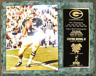 Bart Starr Green Bay Packers Championship History 12x15 Plaque