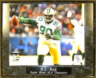 B.J. Raji Green Bay Packers Super Bowl XLV 45 Champions 10.5x13 Plaque