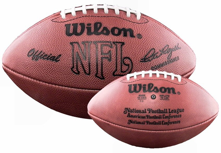 da6aef44c Wilson Official NFL Game Football Pete Rozelle 1960-1989 - GT Wholesale