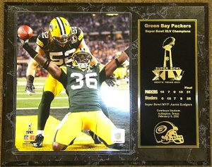 Wholesale Nick Collins & Clay Matthews Green Bay Packers Touchdown Celebration  for sale