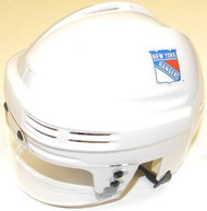 New York Rangers NHL White Throwback Player Mini Hockey Helmet