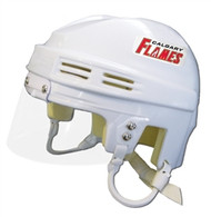 Calgary Flames NHL White Player Mini Hockey Helmet