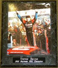 Trevor Bayne 2011 Daytona 500 Champion 10.5x13 NASCAR Plaque