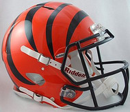 Cincinnati Bengals Riddell NFL Authentic Revolution SPEED Pro Line Full Size Helmet