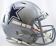 Dallas Cowboys Riddell NFL Authentic Revolution SPEED Pro Line Full Size Helmet