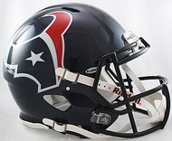 Houston Texans Riddell NFL Authentic Revolution SPEED Pro Line Full Size Helmet