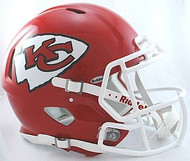 Kansas City Chiefs Riddell NFL Authentic Revolution SPEED Pro Line Full Size Helmet