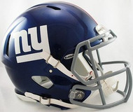 New York Giants Riddell NFL Authentic Revolution SPEED Pro Line Full Size Helmet