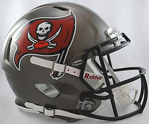 6045cb4e Tampa Bay Buccaneers 1997-2013 Riddell NFL Authentic Revolution ...