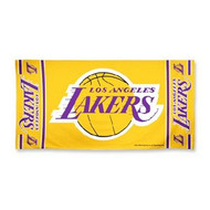 "Los Angeles Lakers WinCraft McArthur 30""x60"" Fiber Beach Towel"