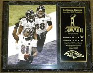 Anquan Boldin Baltimore Ravens Super Bowl XLVII 47 Champions 12x15 Plaque - boldinpl3