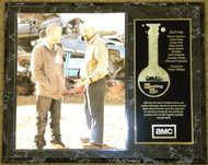 Bryan Cranston & Aaron Paul Breaking Bad 12x15 Wood Plaque - breakingbadpl3