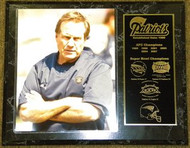 Bill Belichick New England Patriots Super Bowl Champions 12x15 Plaque